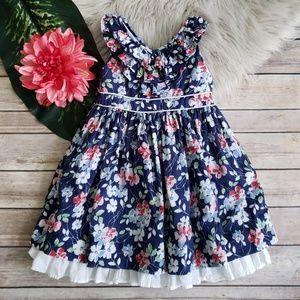 Ralph Lauren Floral Ruffle Dress - Size 2T
